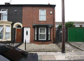 Thumbnail 2 bed end terrace house to rent in Olivia Street, Bootle