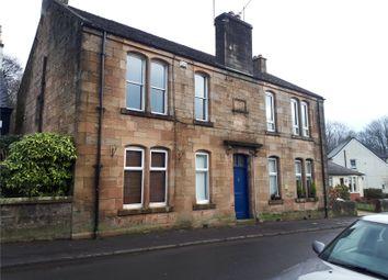 Thumbnail 2 bedroom flat for sale in St Winnoc Road, Lochwinnoch