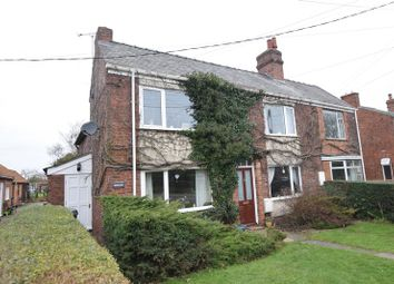 Thumbnail 4 bed semi-detached house for sale in Branston Road, Heighington, Lincoln
