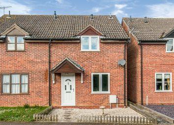 Thumbnail 2 bed semi-detached house for sale in Grundle Close, Stanton, Bury St. Edmunds