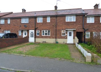 Thumbnail 3 bed terraced house for sale in Stour Avenue, Felixstowe