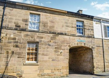 Thumbnail 3 bed town house for sale in Upper Howick Street, Alnwick