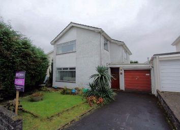 Thumbnail 3 bed detached house for sale in Raleigh Close, Sketty