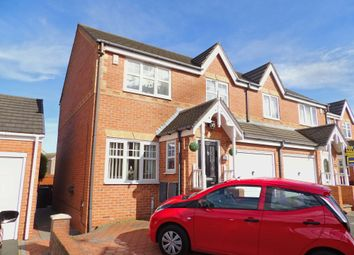 Thumbnail 3 bedroom semi-detached house for sale in Seaham Close, South Shields