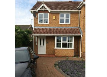 Thumbnail 3 bed end terrace house to rent in 1 The Gables, Newhall, Swadlincote, Derbyshire