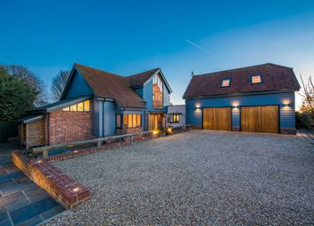 Thumbnail 4 bed detached house for sale in Kersey, Ipswich, Suffolk