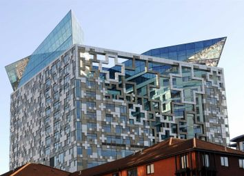Thumbnail 1 bed flat for sale in The Cube, 197 Wharfside Street, Birmingham