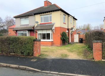 Thumbnail Semi-detached house to rent in 25 Davenham Crescent, Crewe, Cheshire
