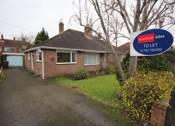 Thumbnail 2 bed bungalow to rent in Joseph Crescent, Alsager, Stoke-On-Trent
