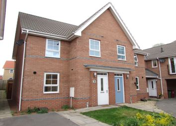 Thumbnail 3 bed semi-detached house to rent in Osprey Drive, Scunthorpe