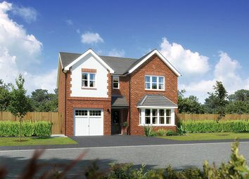 "Thumbnail 4 bedroom detached house for sale in ""Hampsfield"" At Close Lane, Alsager, Stoke-On-Trent ST7, Alsager,"