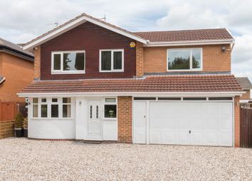 Thumbnail 4 bed detached house for sale in Prospect Lane, Solihull, West Midlands