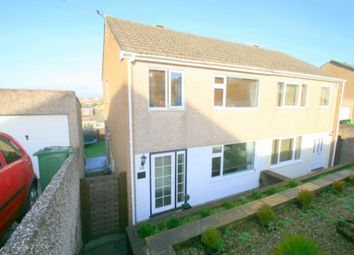 Thumbnail 3 bed semi-detached house for sale in Bellingham Crescent, Plympton, Plymouth