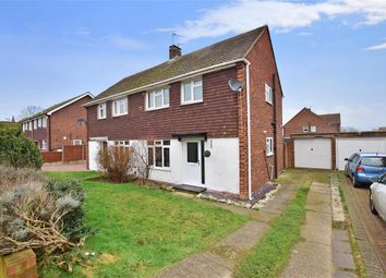 Thumbnail 3 bed semi-detached house for sale in Elm Walk, Greenacres, Aylesford, Kent