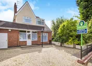 Thumbnail 3 bed property for sale in Hillsborough Road, Glen Parva, Leicester