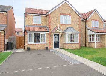 Thumbnail 4 bed detached house for sale in Alnmouth Avenue, Ashington