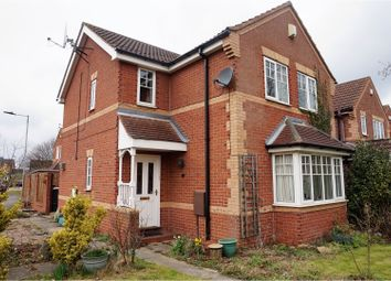 Thumbnail 3 bed detached house for sale in Westongales Way, Doncaster
