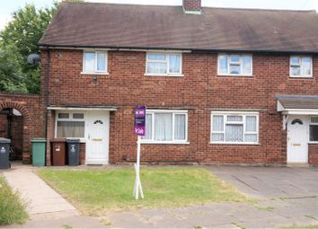 Thumbnail 2 bed semi-detached house for sale in Aldis Road, Walsall