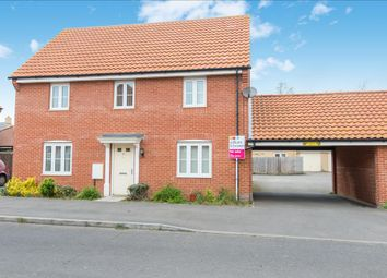 Thumbnail 4 bedroom detached house for sale in Fortress Road, Carbrooke, Thetford