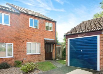 Thumbnail 3 bed semi-detached house for sale in Thrush Close, Mulbarton, Norwich, Norfolk