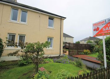 Thumbnail 1 bed flat for sale in Burnhall Place, Waterloo, Wishaw