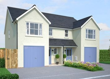 Thumbnail 4 bedroom detached house for sale in Off Gilbert Road, Bodmin, Cornwall