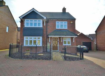 Thumbnail 4 bed detached house for sale in Lansbury Road, Newton Leys, Milton Keynes, Buckinghamshire