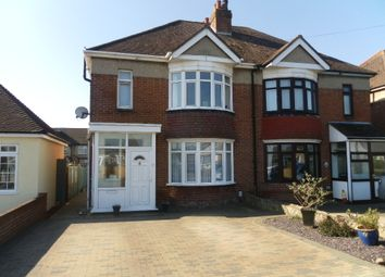 Thumbnail 3 bed semi-detached house for sale in Cranleigh Road, Portchester