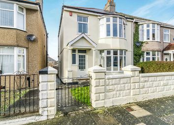 Thumbnail 3 bed semi-detached house for sale in Orchard Road, Beacon Park, Plymouth