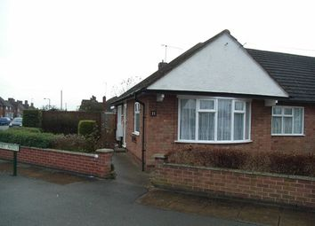 Thumbnail 2 bed bungalow to rent in Foxhunter Drive, Oadby, Leicester