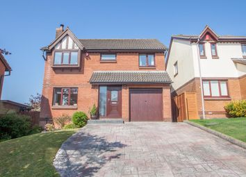 Thumbnail 4 bed detached house for sale in Oakwood Close, Woolwell, Plymouth
