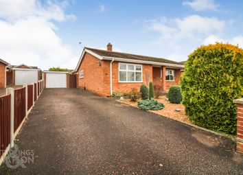 Thumbnail 2 bed detached bungalow for sale in Victoria Road, Taverham, Norwich