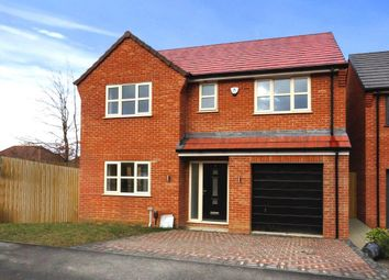 Thumbnail 4 bed detached house for sale in Brandyline Gardens, Newthorpe, Nottingham