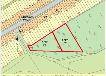 Thumbnail Land for sale in Land Rear 93-99 (Odds) Clarendon Place, Dover, Kent