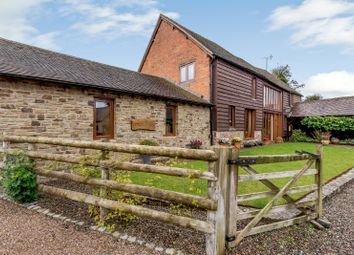 Thumbnail 4 bed detached house for sale in The Bury, Stoke Prior, Leominster, Herefordshire