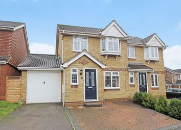 Thumbnail 3 bed semi-detached house for sale in Hodgkin Close, Maidenbower, Crawley