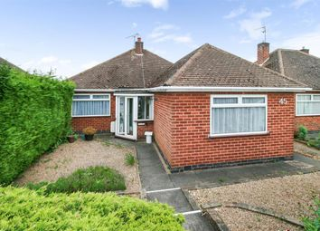 Thumbnail 2 bed bungalow for sale in Ambergate Drive, Birstall, Leicester