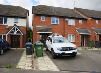 Thumbnail 2 bed end terrace house for sale in Callier Close, Cawston, Rugby