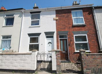 Thumbnail 3 bedroom terraced house to rent in May Road, Lowestoft