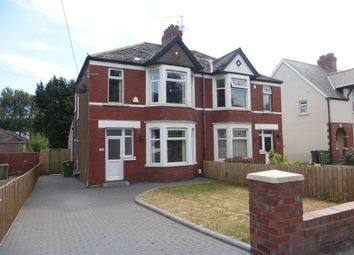 Thumbnail 3 bedroom semi-detached house for sale in New Road, Rumney, Cardiff