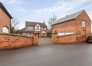 Thumbnail 4 bed detached house for sale in School Lane, Wrexham, Wrexham