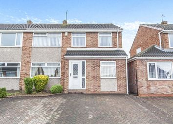 Thumbnail 4 bed semi-detached house for sale in Esher Avenue, Normanby, Middlesbrough