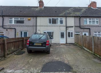 Thumbnail 3 bed terraced house for sale in Sixth Avenue, Mansfield, Nottinghamshire