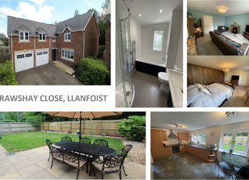 Thumbnail 4 bed detached house for sale in Crawshay Close, Llanfoist, Abergavenny