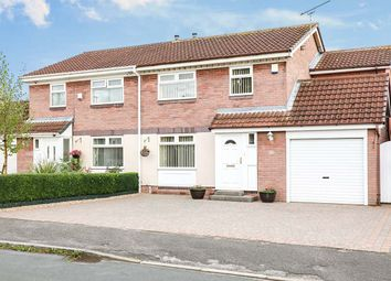 Thumbnail 3 bed semi-detached house for sale in Hunters Park, Dinnington, Sheffield