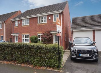 Thumbnail 3 bed semi-detached house for sale in Bannister Close, Stoke-On-Trent, Staffordshire