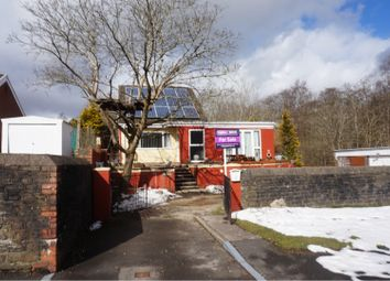 Thumbnail 3 bed bungalow for sale in Heol Evan Wynne, Bargoed