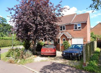 Thumbnail 3 bed semi-detached house for sale in Nether Mead, Okeford Fitzpaine, Blandford Forum