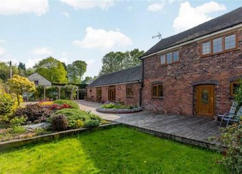 Thumbnail 4 bed barn conversion for sale in Saverley Green, Stoke-On-Trent