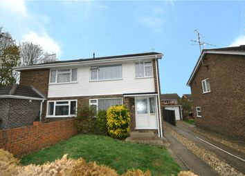 Thumbnail 3 bed semi-detached house for sale in Grieg Close, Basingstoke, Hampshire